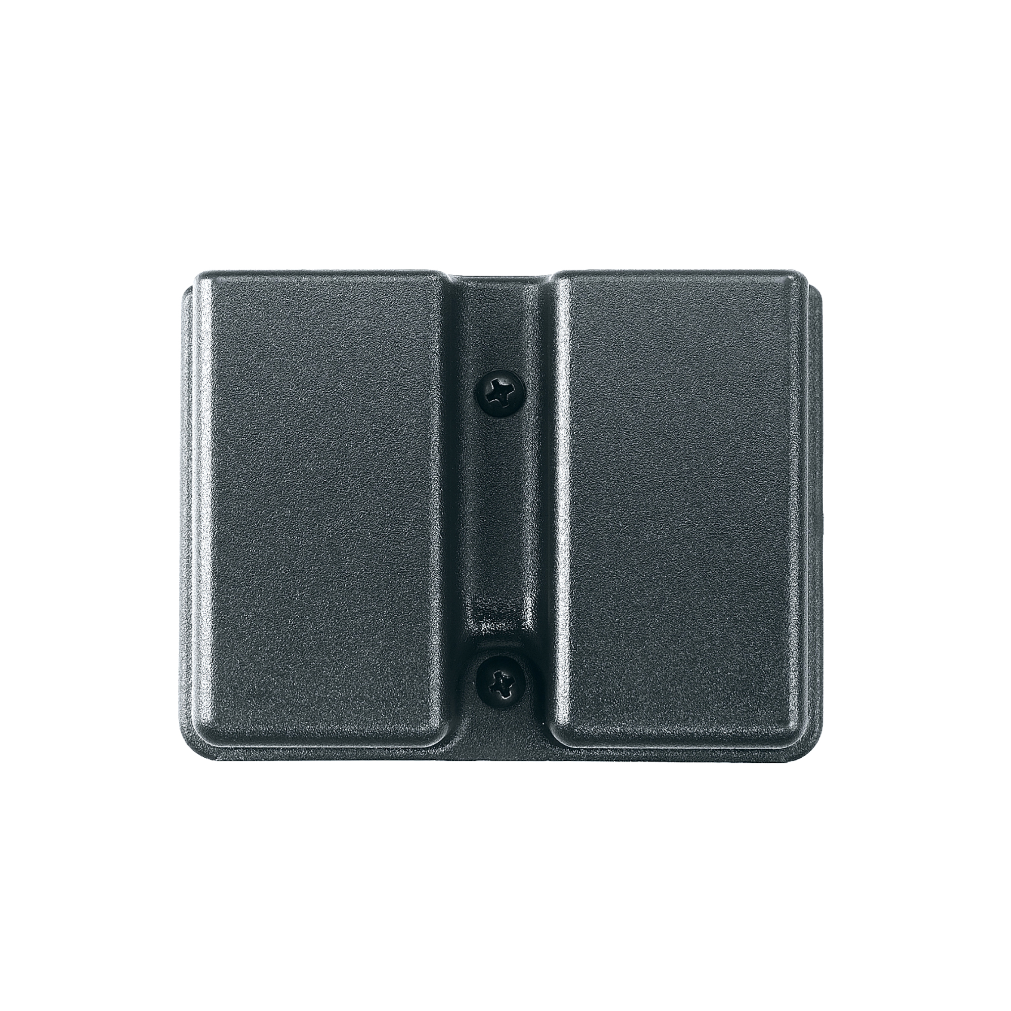 "This is a double row belt model magazine case. Give your magazines the same protection as your firearm. Internal tensioning device for security. Fits belt loops up to 1 3/4""."