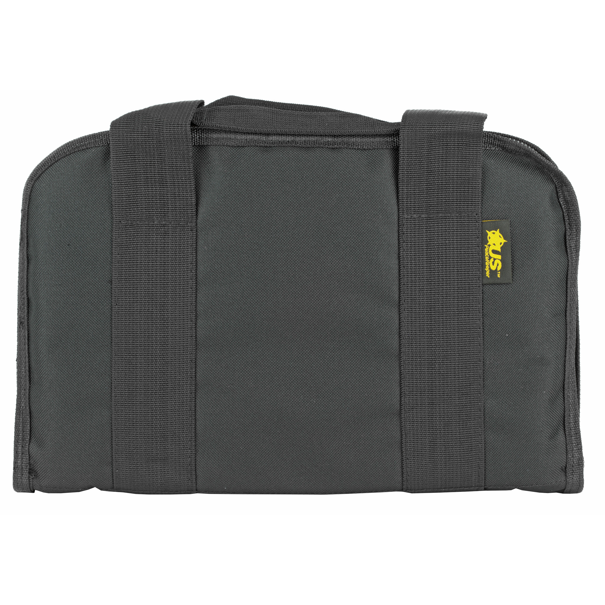 The US PeaceKeeper Attach Case organizes and protects your handgun and up to five (5) spare magazines. It's slim design allows for easy storage in most safes while keeping your firearm protected and instantly ready for transport to the range.