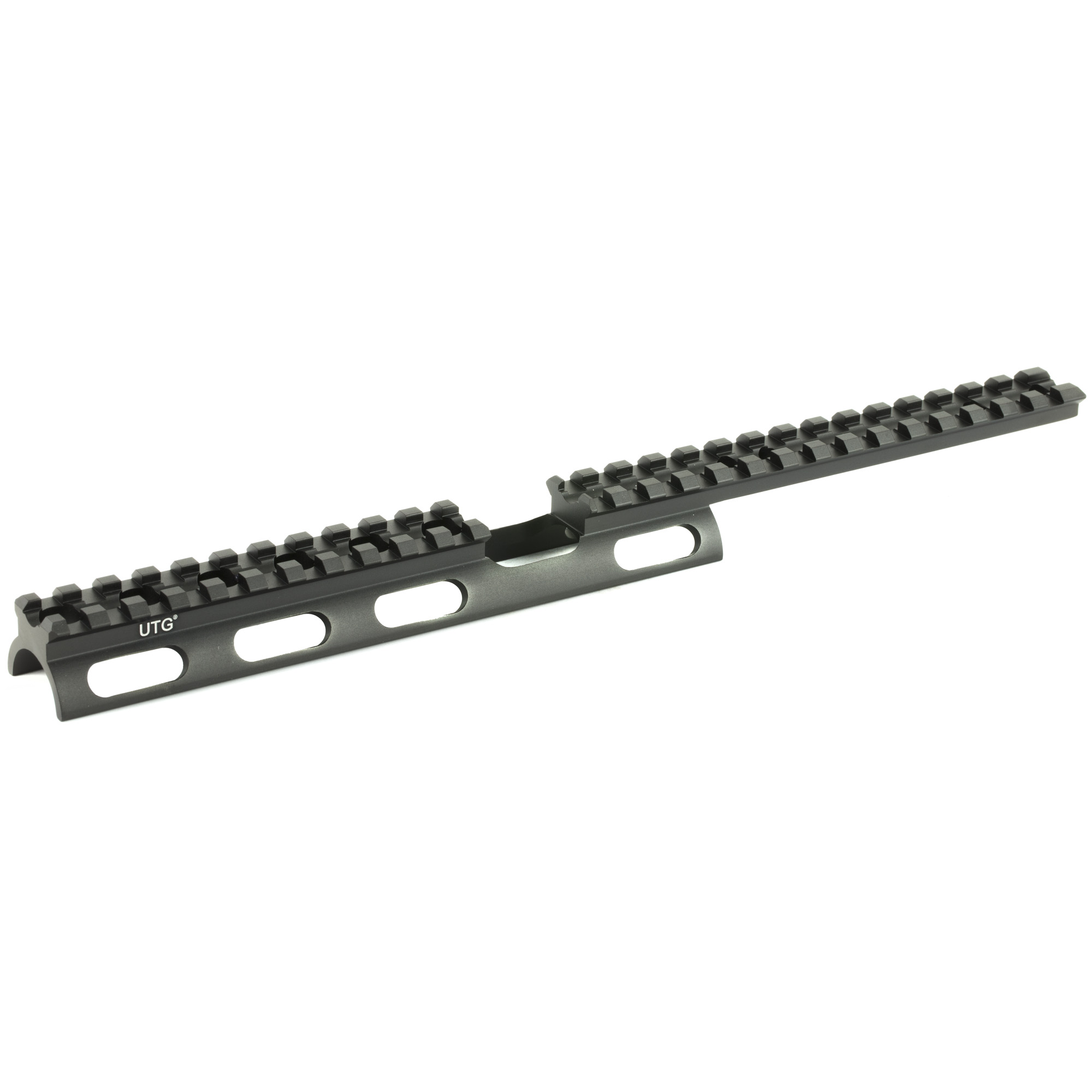 Tactical scout slim rail for the Ruger 10/22 made by UTG.