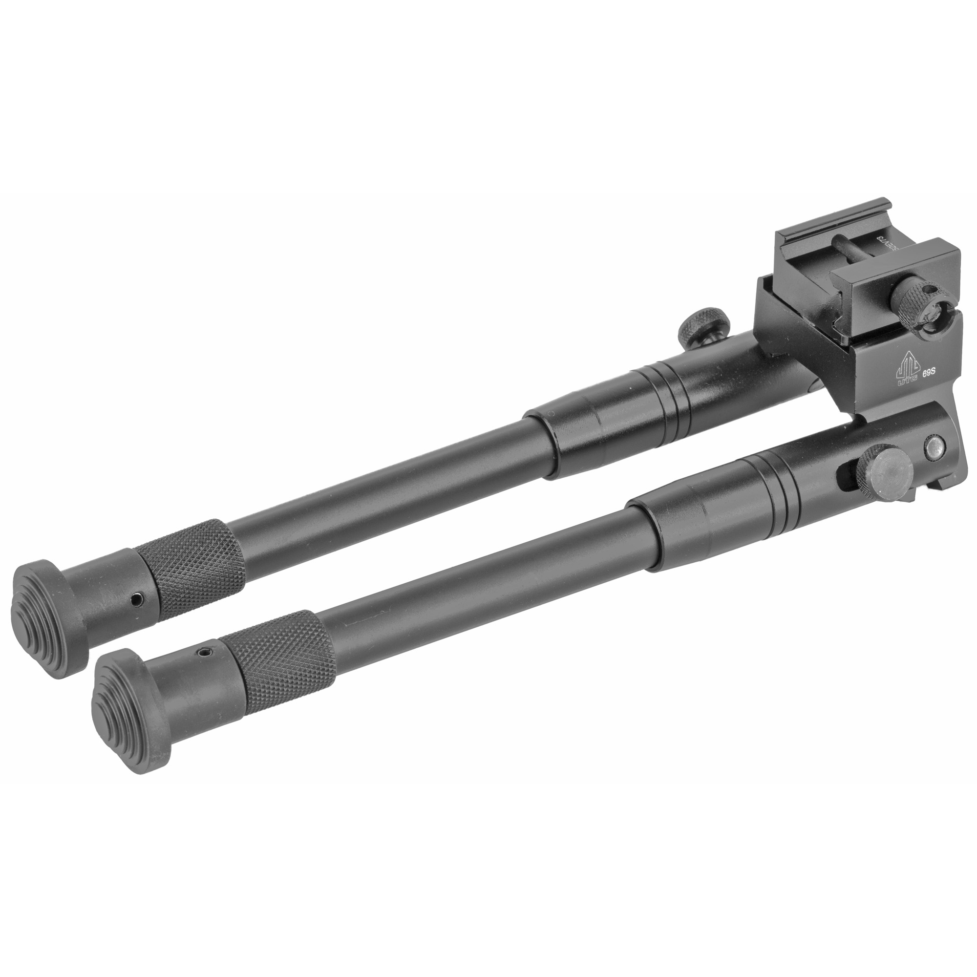 """Whether you need a sturdy mount for your AR-15 rifle or tactical sniper rifle"""" this high-tech bipod features a Picatinny mount and swivel stud adapter for mounting on virtually any rifle configuration. The rifle bipod includes spring operated Posi-Lock legs that are foldable and fully adjustable"""" and prevent tipping. The gun bipod is an overall height of 8.7 to 10.6 inches and the direction adjustable mount allows for approximately 10 degrees of left or right panning without leg movement. Spring tension and a lockable collar provide both flexible and secure adjustments."""