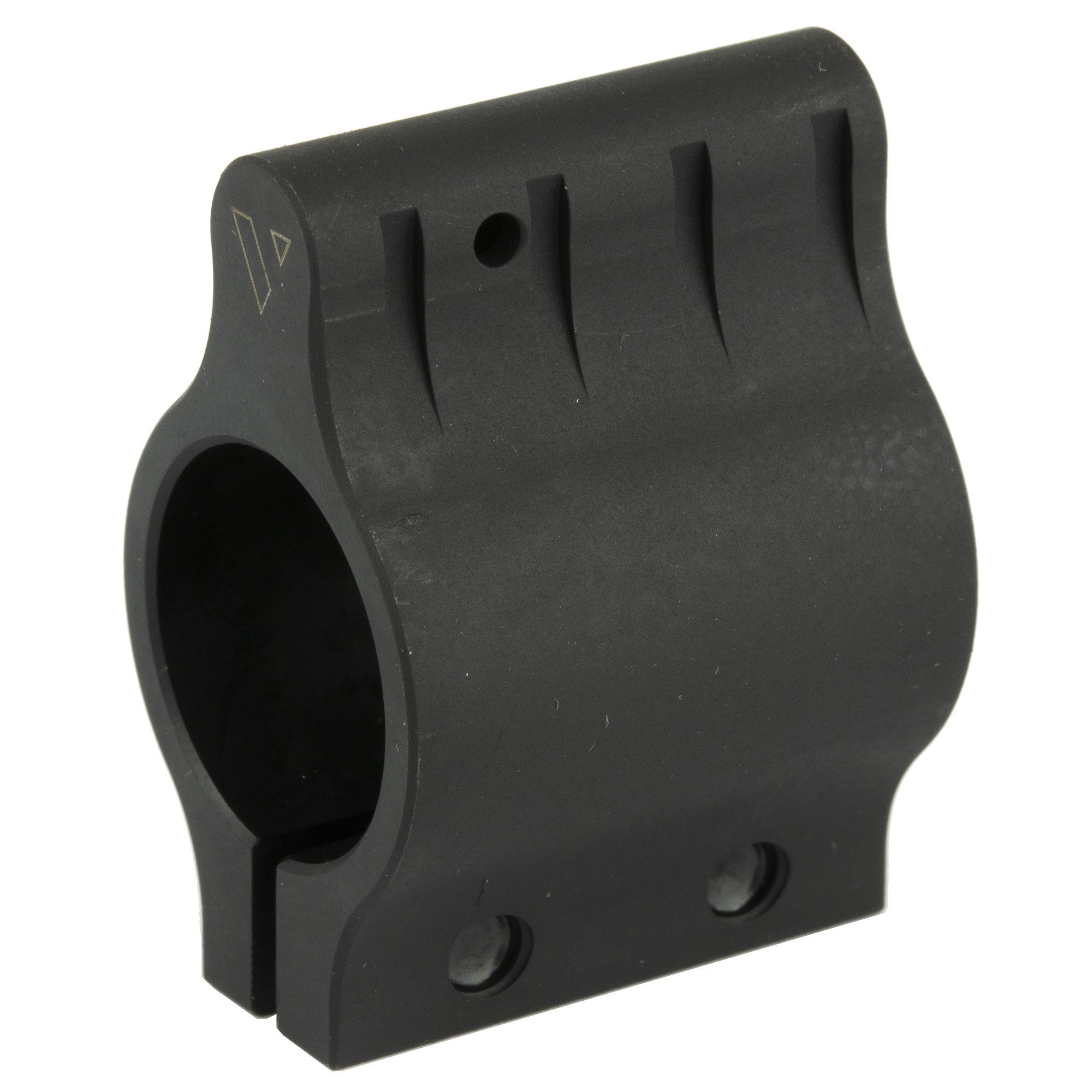 """Built to the tightest tolerances"""" the VLTOR low profile"""" clamp on gas blocks are small enough to fit inside most rail systems. These gas blocks were designed to be used with a rail system/handguard that is mounted over the entire gas system."""