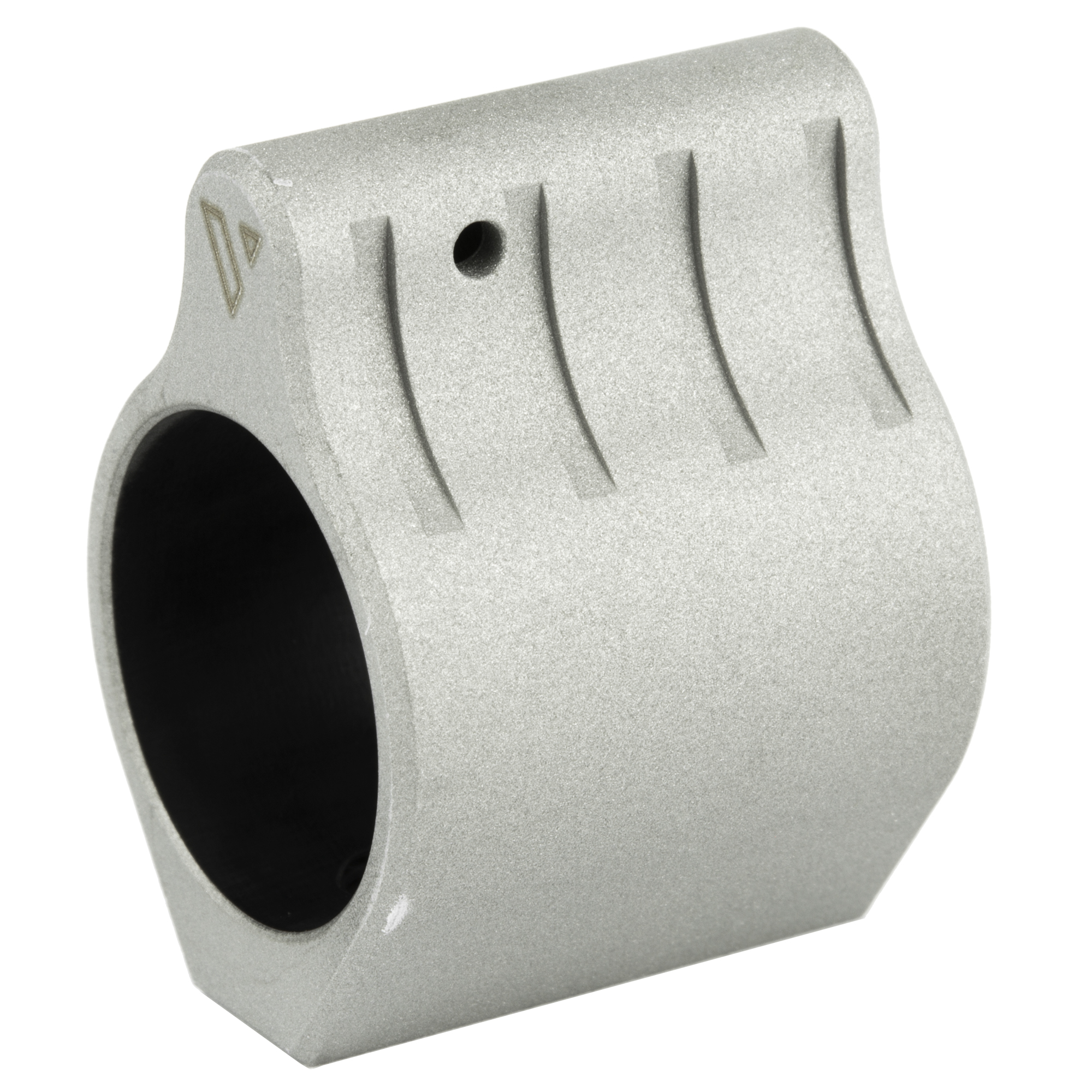 """Built to the tightest tolerances"""" the VLTOR low profile"""" set screw gas blocks are small enough to fit inside most rail systems. These gas blocks were designed to be used with a rail system/handguard that is mounted over the entire gas system."""