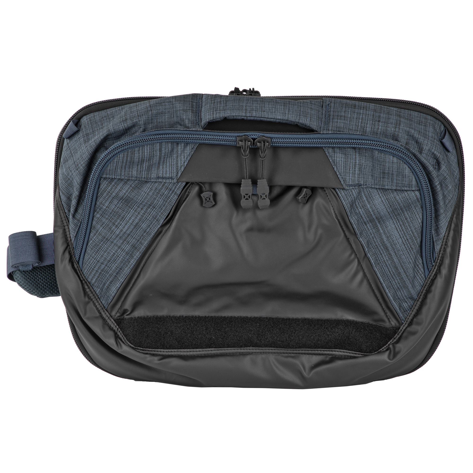 This mid-sized sling bag works and plays large because of the versatility built into every critical feature. The Dead Letter Sling's appearance and functionality can be modified in seconds to adapt to your immediate needs. Multiple carry options let you move confidently and discreetly on the street with invisible CCW and ballistic panel capabilities as well as a full complement of office-friendly aesthetics and organization.
