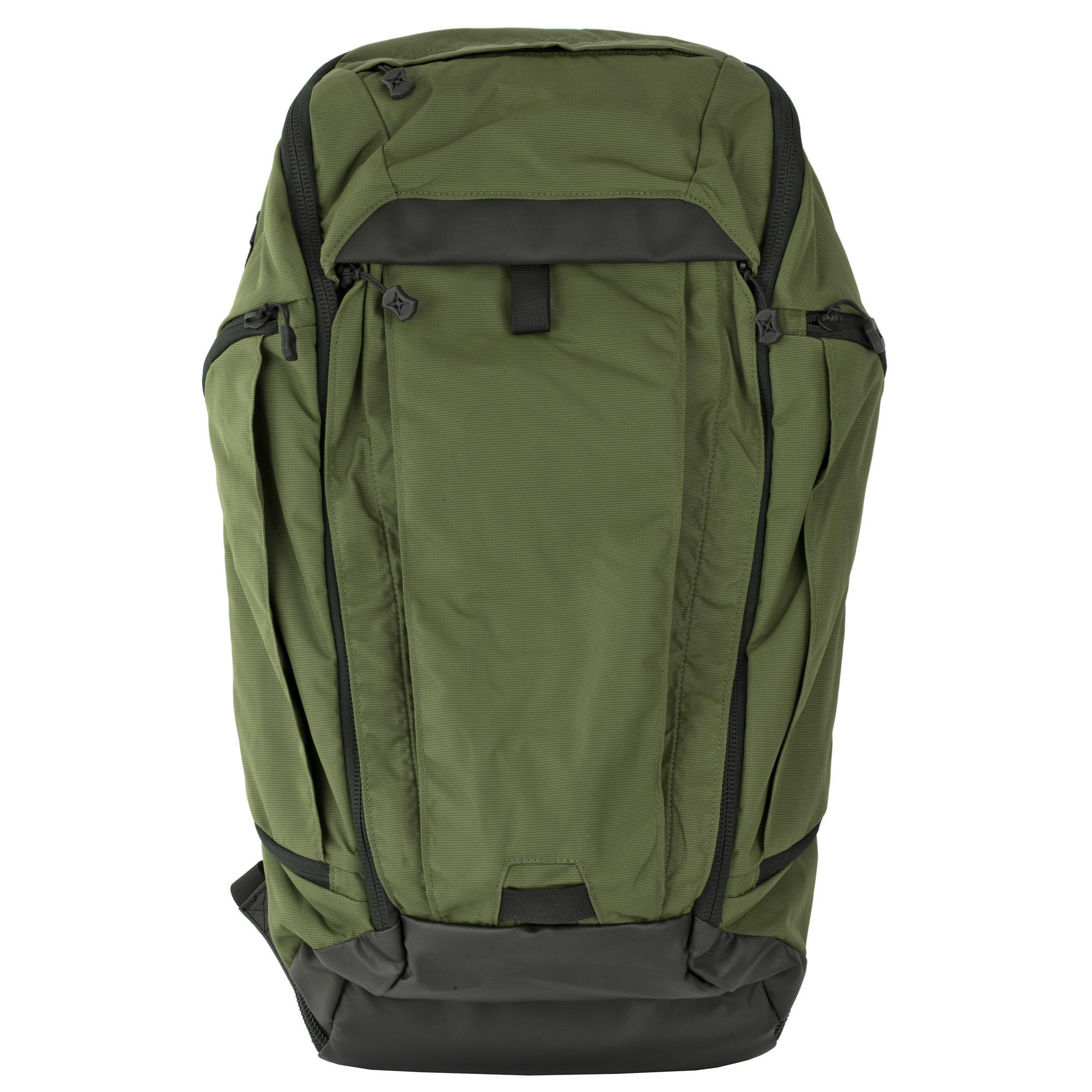 """The Gamut Checkpoint's sleek styling and an unassuming faade conceal the capabilities provided in this full-featured rifle-friendly gear hauler. Equally adept on the trail and the street"""" the emphasis is on efficient organization of an extensive loadout that is easy to access yet protected by subtle pilfer-resistant construction features. The internal MOLLE panel and multiple VELCRO Brand loop panels let you customize the configuration of essential gear to best suit your needs."""