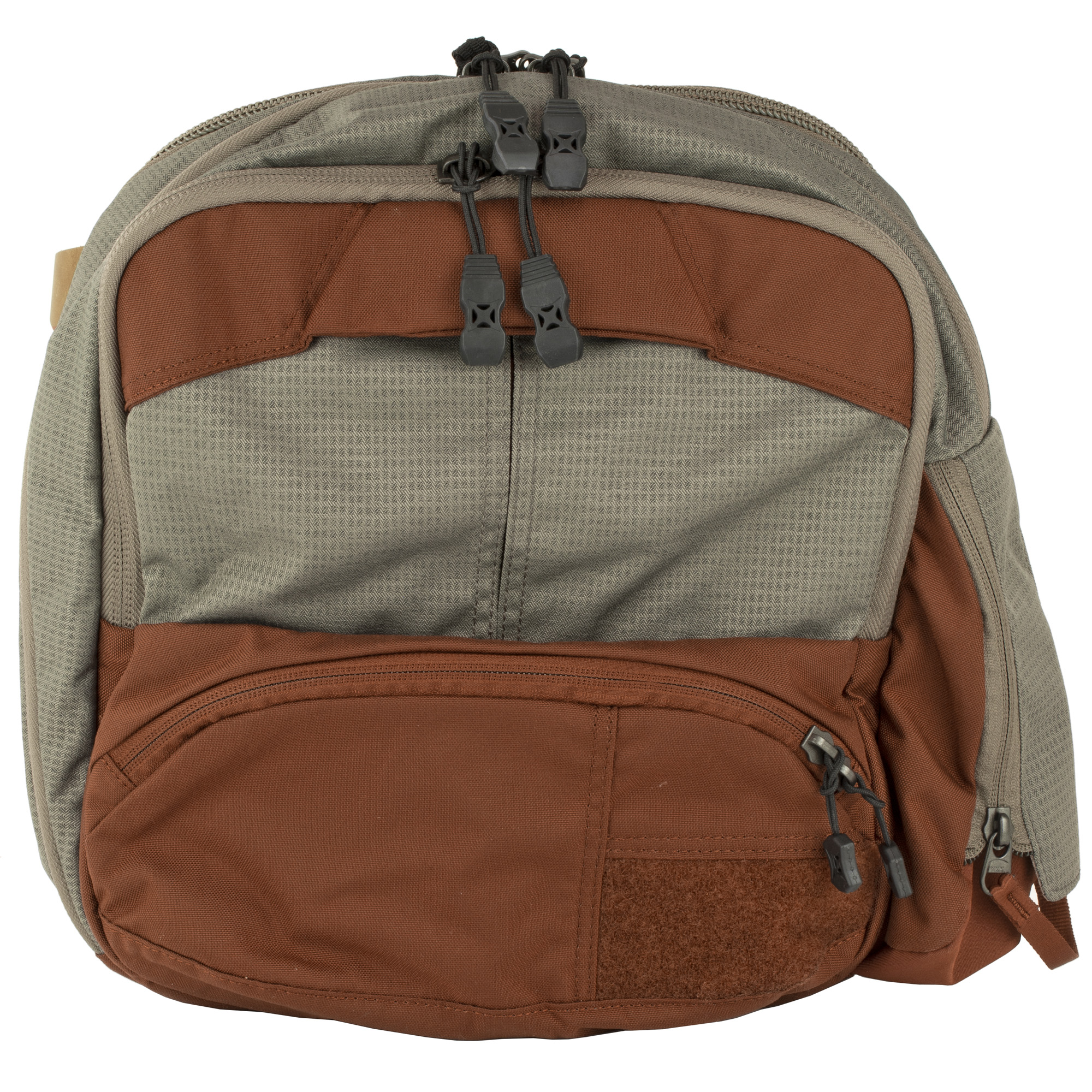 """Traveling light doesn't mean having to give up your essentials when you're on the move. Keep necessities and tools of the trade handy and organized subtly without the bulk of a full-sized pack"""" while retaining the option to add more capacity if needed. The Essential Sling's attractive street styling belies the capabilities at your fingertips."""