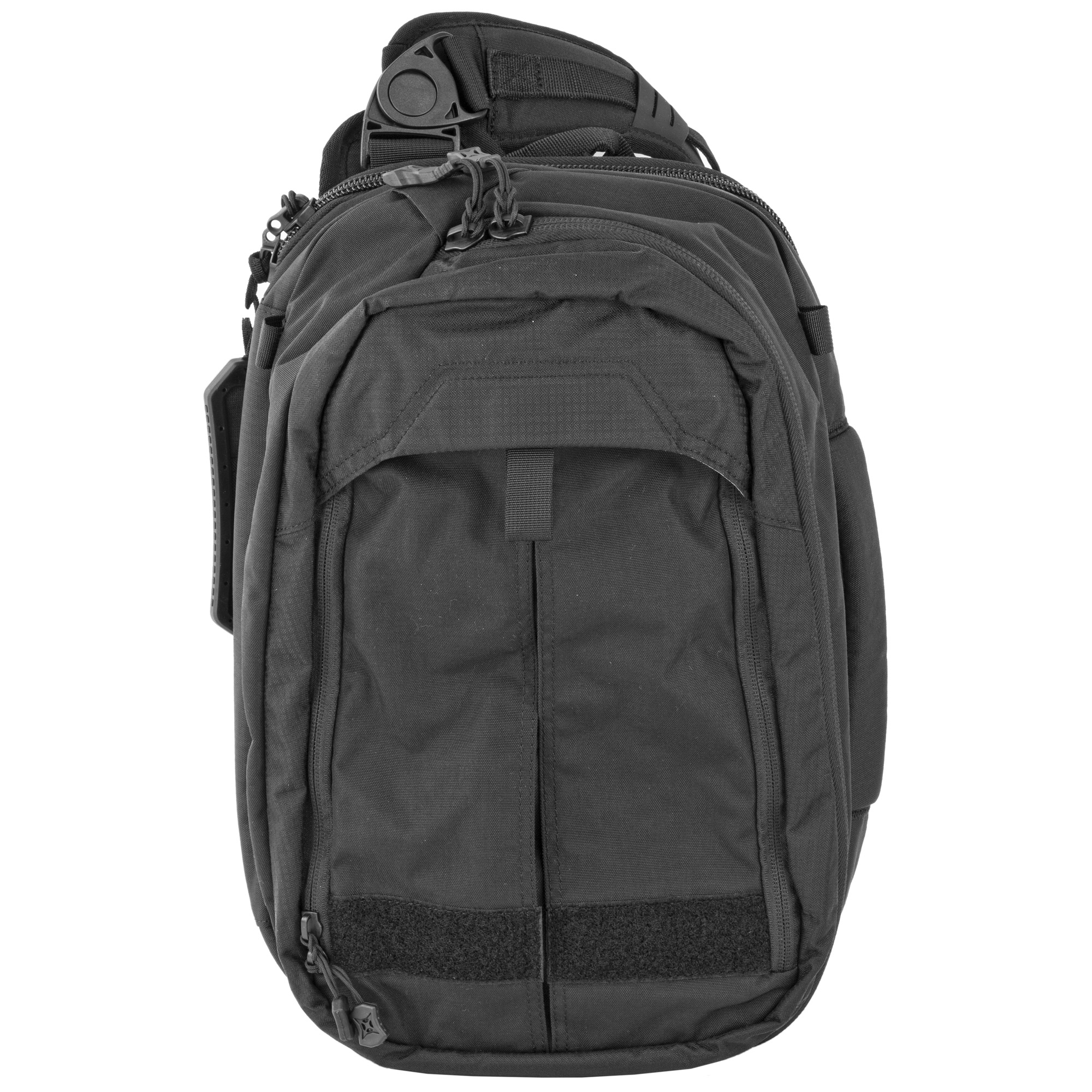 """When you're on the go and can't be burdened by a full-size pack but still need to bring the goods"""" this medium volume sling is spacious and versatile enough to handle your CCW and EDC needs. Blending into the crowd is easy with the Transit Sling. Plus"""" when the need arises"""" you can change its outward appearance while retaining rapid access to your secured tools quickly and without announcing the presence of your gear. Comfortable shoulder and waist straps manage loads that can include hydration systems"""" laptops and everything in between."""