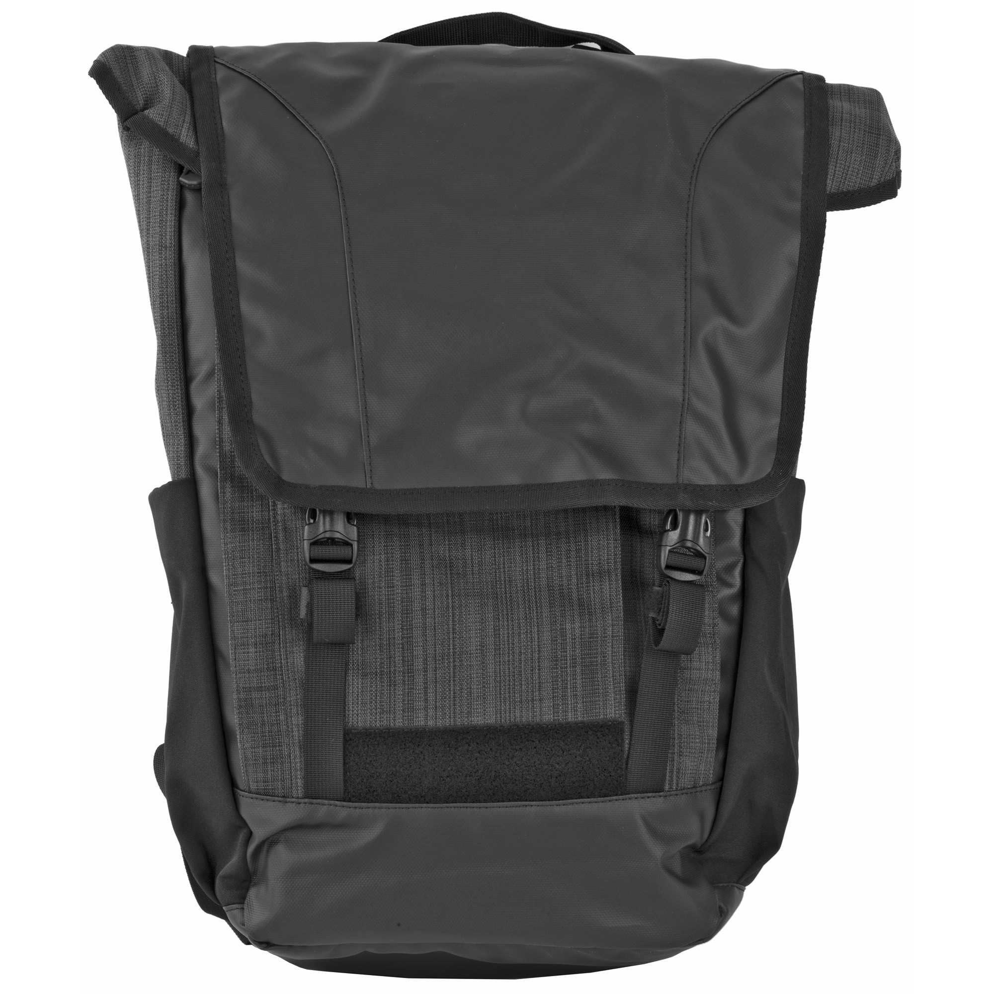 """When space and weight are important"""" this grab-and-go Last Call pack is perfect for keeping your essential tools close at hand. The gear in your CCW compartment is just a tug away with the Rapid Access Pull tab and the main compartment opens like a clamshell to let you load"""" find and remove items quickly and easily. The front flap quickly stows behind the MOLLE panel it covers and additional storage space is available in external pockets"""
