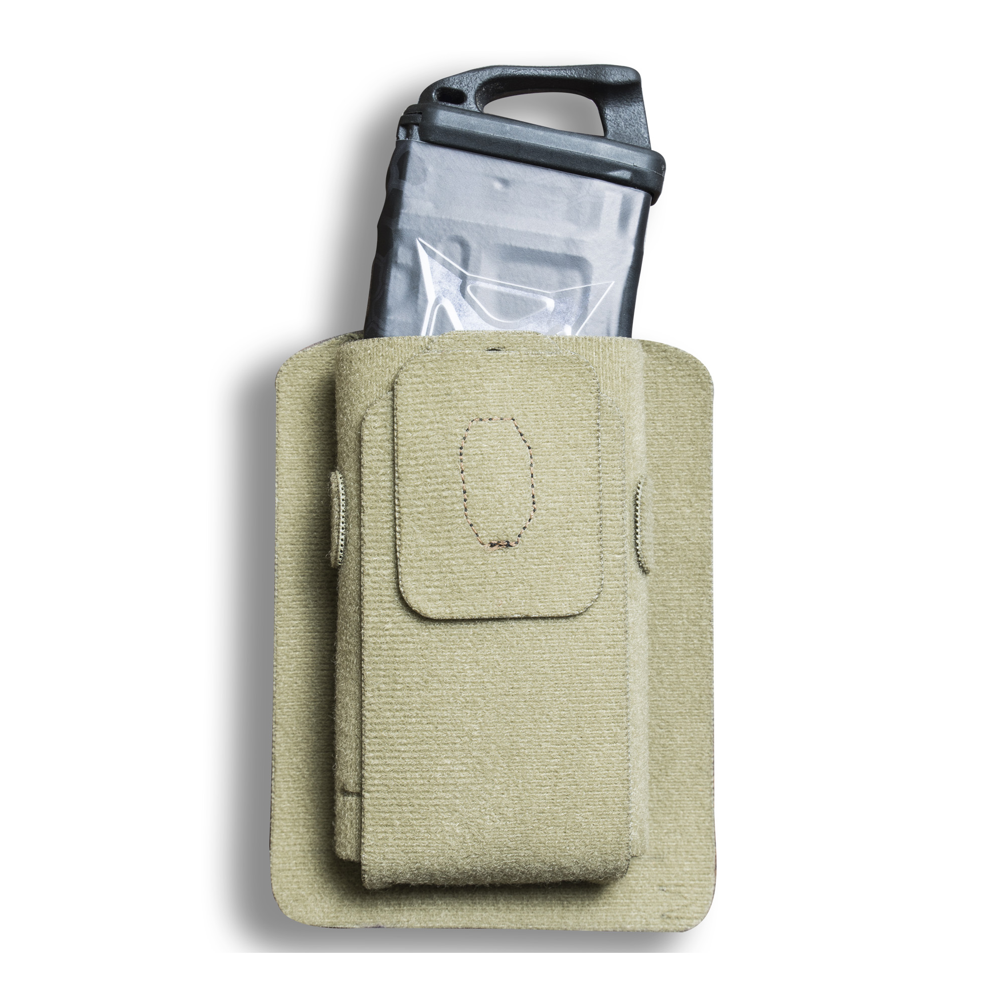 "Experience the unique storage options of Vertx(R) Tactigami with the MAK Standard accessory system. MAK stands for MAGs and Kit"" meaning their patent pending wrap adapts to fit smaller gear"" from MAGs to flashlights"" cell phones and more. Built from Velcro(R) One-Wrap(R)"" this accessory piece literally wraps around your item for a completely customized fit"" then attaches to loop panel for unparalleled organizational capability. Pair with any of the Vertx(R) bags and packs for everyday carry options and ultimate concealment. The MAK Full is sized to fit larger items such as rifle magazines"" smartphones and flash bangs."