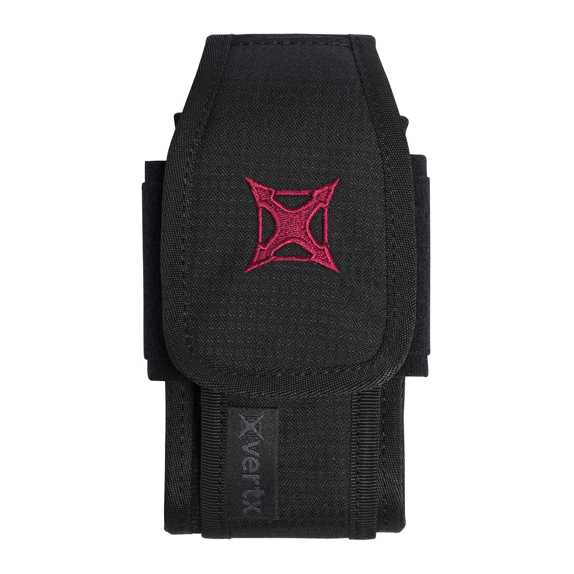 The Tactigami Tech and Multi-Tool Pouch securely stows inside any of the Vertx bags or can be used solo to protect your handheld devices from the elements.