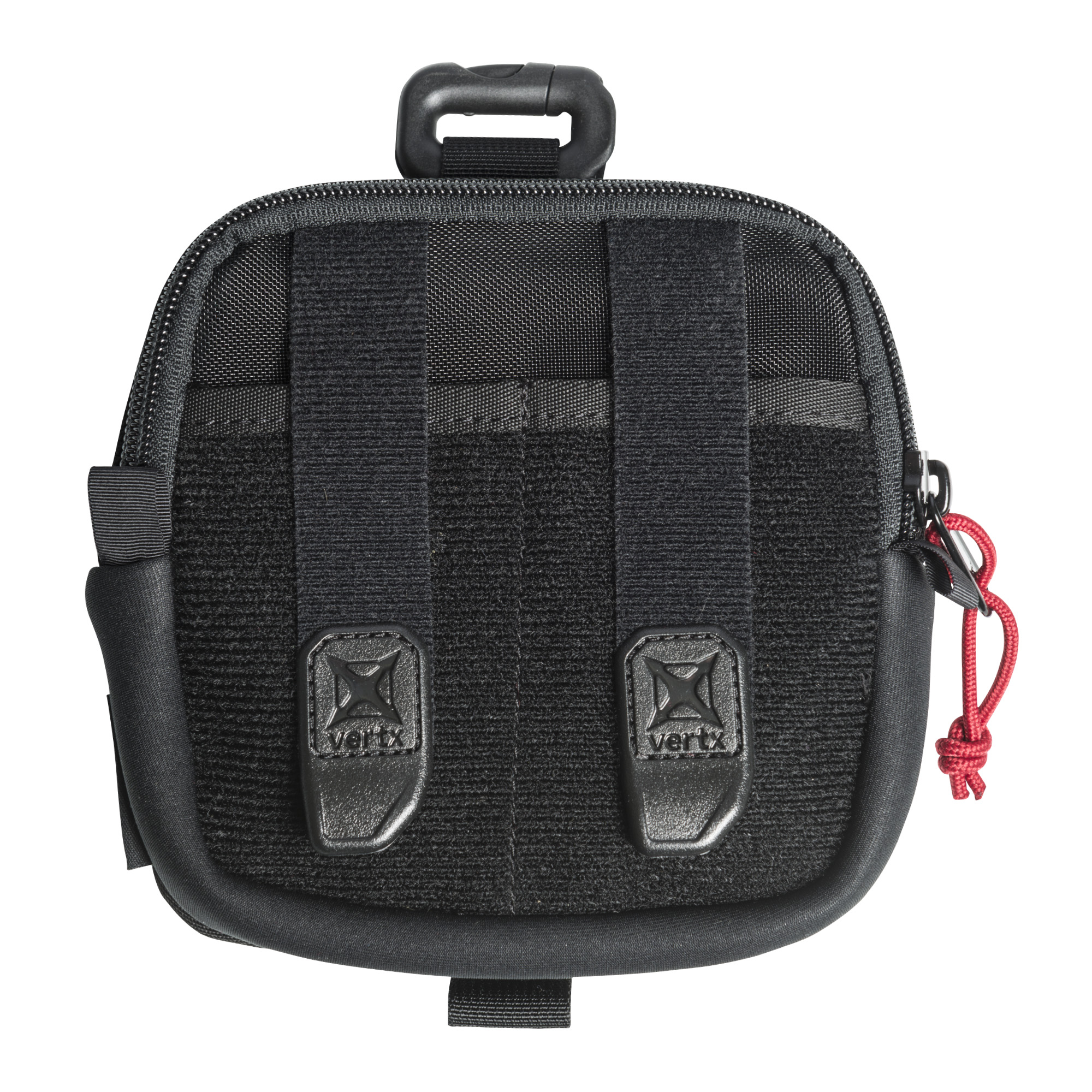 The Tactigami Mini Organizational Pouch securely stows inside any of the Vertx bags or can be used solo to store electronic cables and other small gadgets and gear.