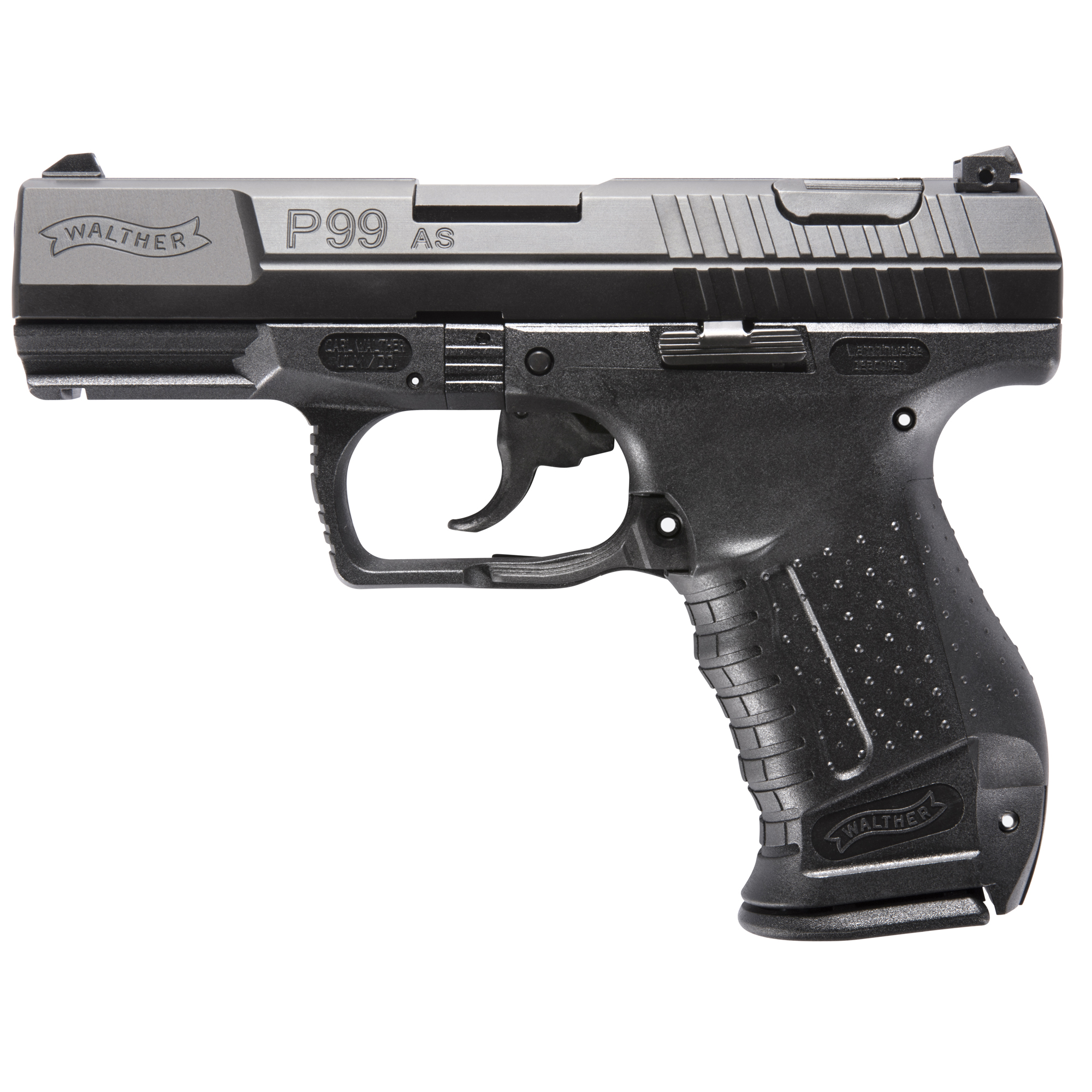 """As the duty pistol for law enforcement agencies in North America"""" Europe and Asia"""" the P99 has endured the harshest operating conditions a handgun will ever see. What's more"""" its ergonomics and engineering have evolved subtly in response to feedback from agencies over the years. The P99 is truly a world class handgun for professionals who must trust their lives to a firearm."""