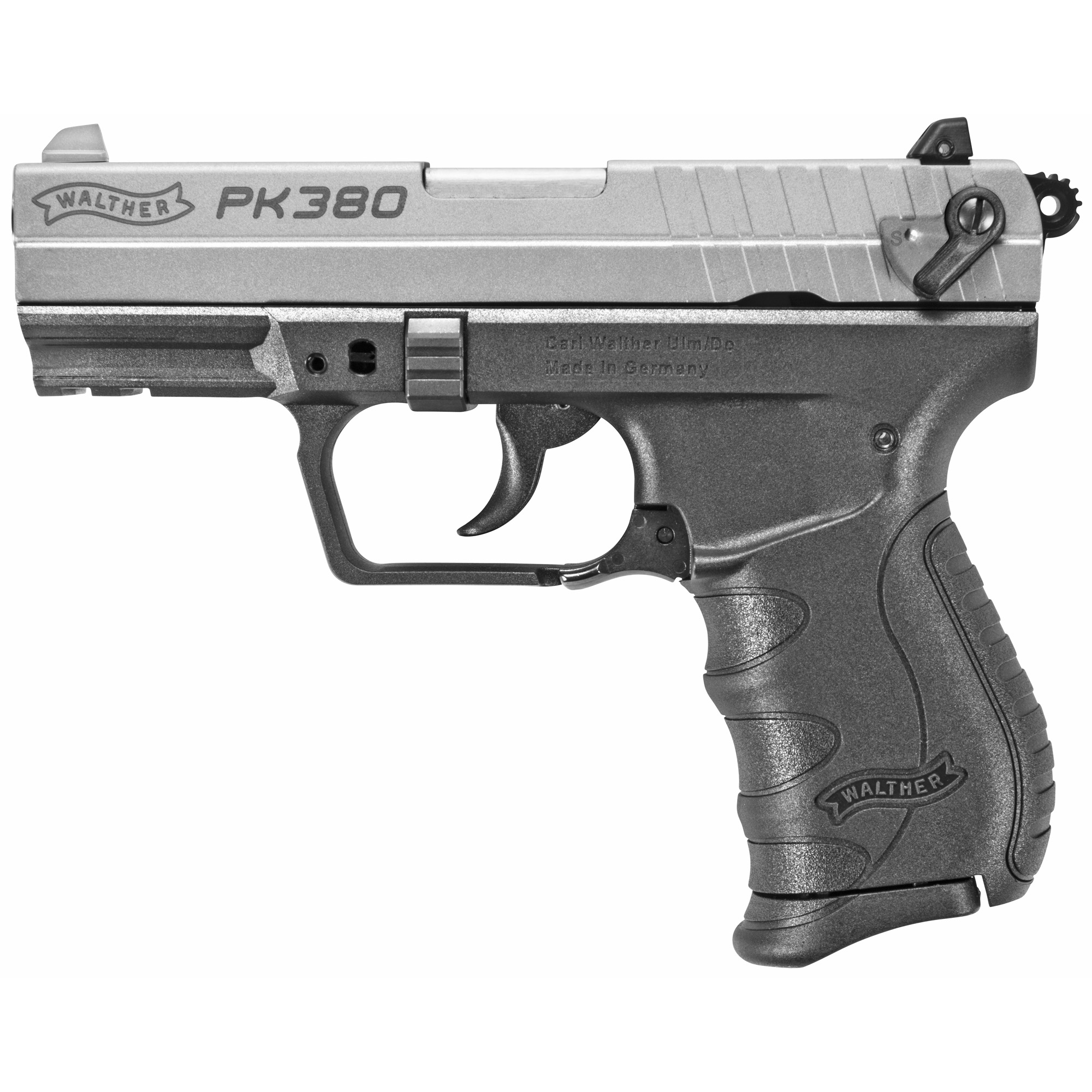 """The PK380 is not just good looking. It is small and good looking. That makes the PK380 excellent for concealed carry. Its small grip is ideal for shooters with small hands. The slide is easy to operate"""" making it a good choice for women. The light weight goes unnoticed in a pocket or purse."""