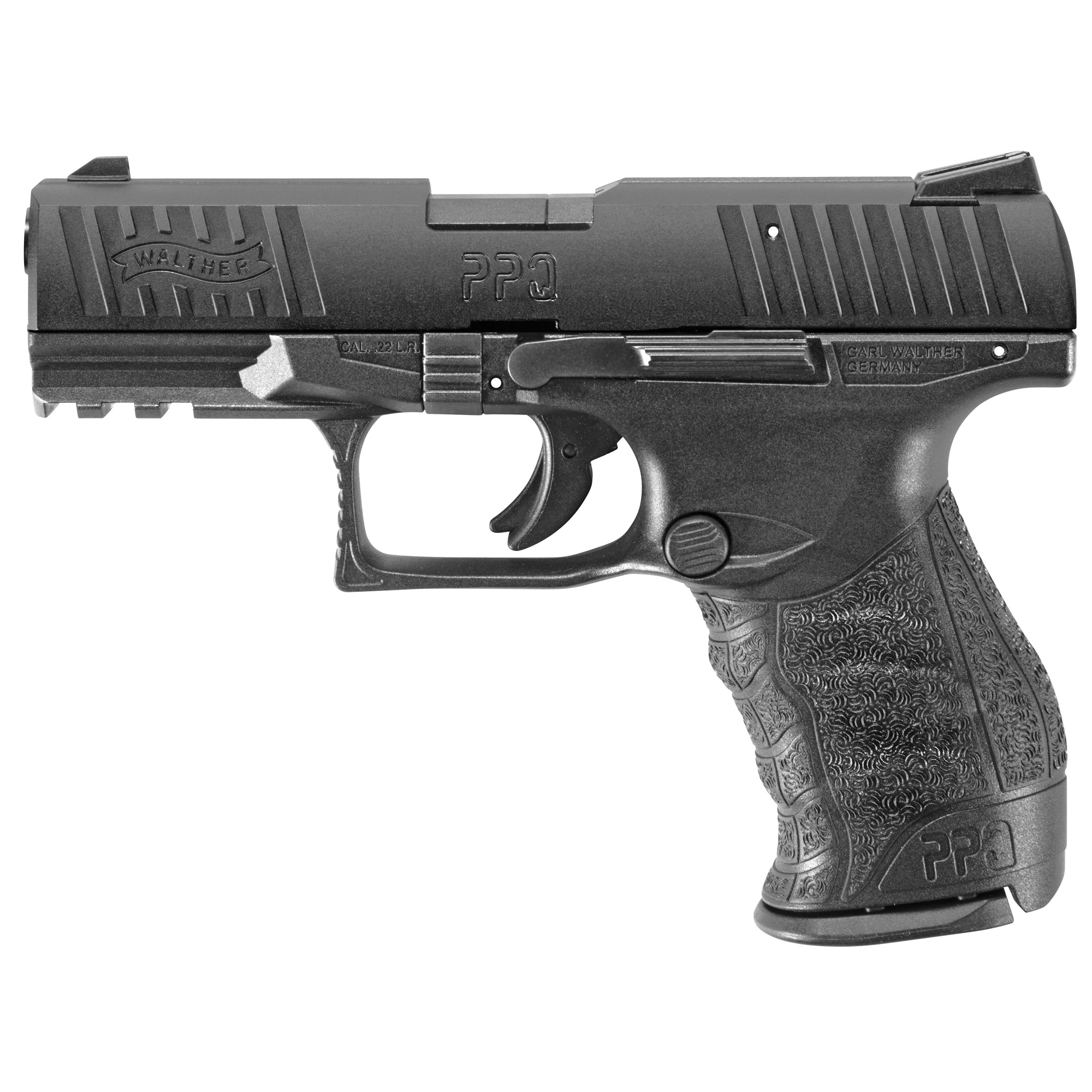 """The PPQ .22 is the best of both worlds. By combining smooth-shooting"""" ergonomically-advanced components of the PPQ with the fun and cost savings of .22 rimfire"""" you have the pleasure of shooting shot after shot both accurately and affordably. The sculpted grip meshes smoothly into the hand. The trigger is the finest ever on a polymer handgun. The styling is elegant and trim."""