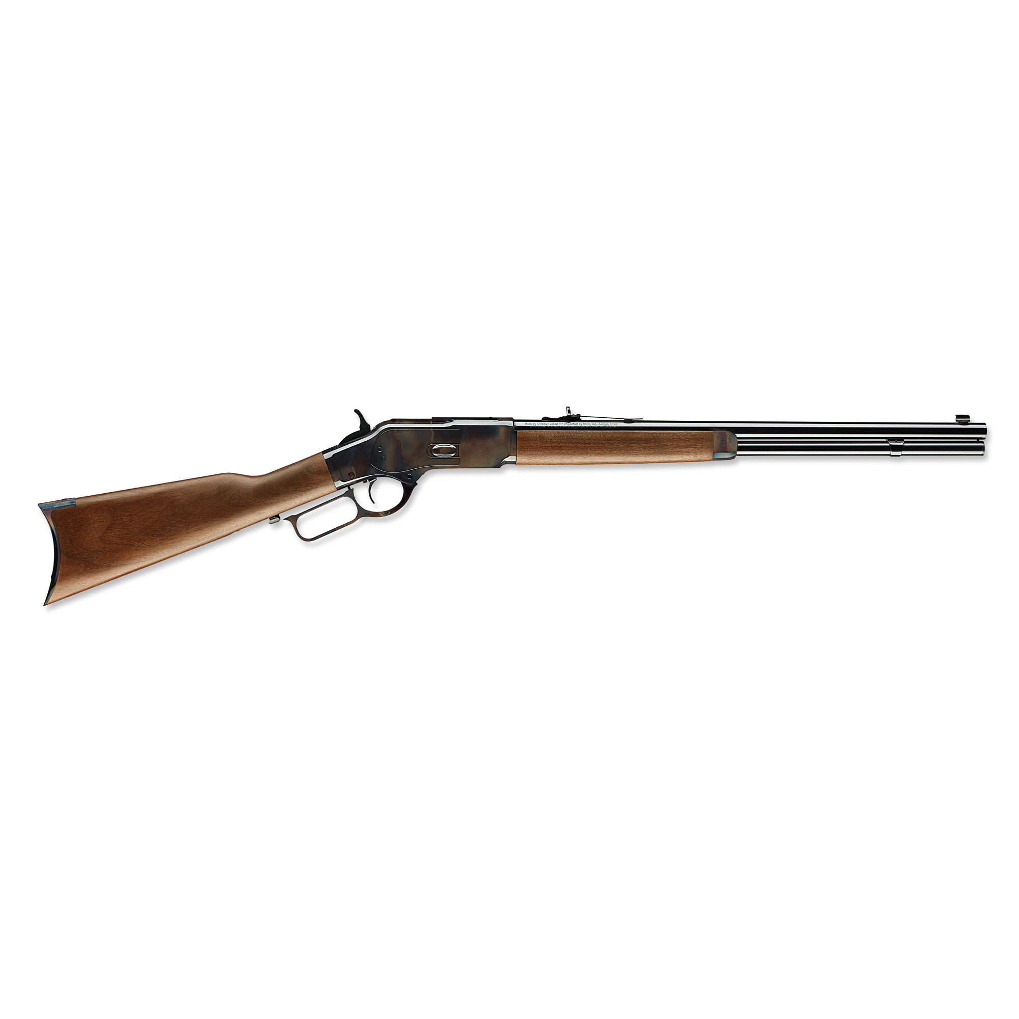 """The gun that won the West. The Model 73 is world-renowned as """"The Gun that Won the West."""" Now you can own the real thing - a genuine Winchester Repeating Arms(R) Model 73. Several features of the Model 1873 are what set it apart over 140 years ago"""" and still make it a very cool rifle to shoot today."""