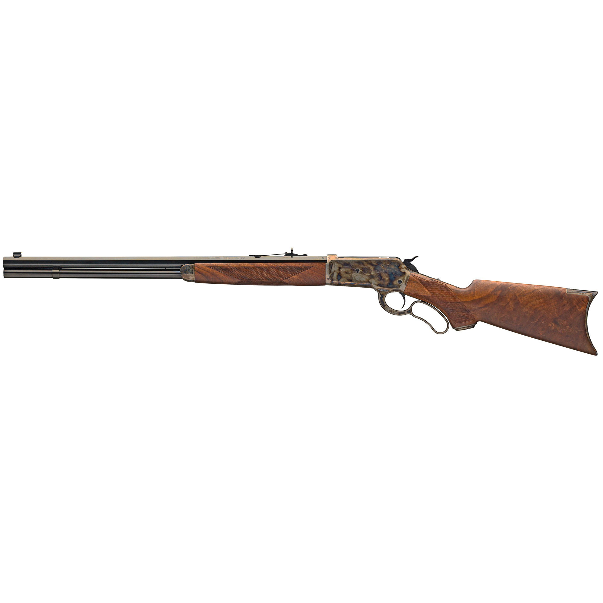 With the introduction of the Winchester Model 1886 the world of lever actions was changed forever. No previous lever action ever handled as well. No previous lever action was as strong. No other lever action ever offered chamberings in such powerful cartridges.