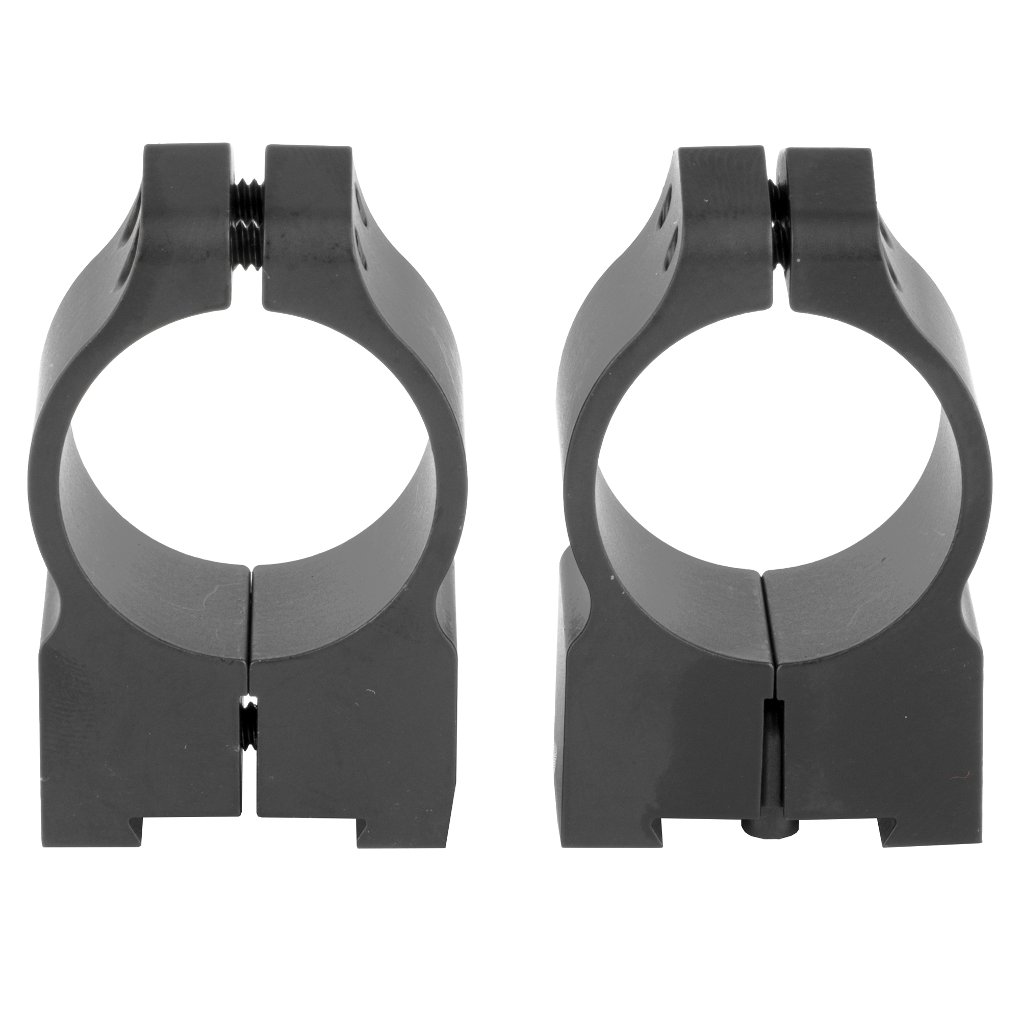 """Since each firearm manufacturer has their own proprietary mounting rail design"""" each ring model must be machined to exacting tolerances for proper fit and function. Because of this"""" the Warne Tikka Rings are able to fit right onto the receiver's dovetail with no need for a mounting base."""