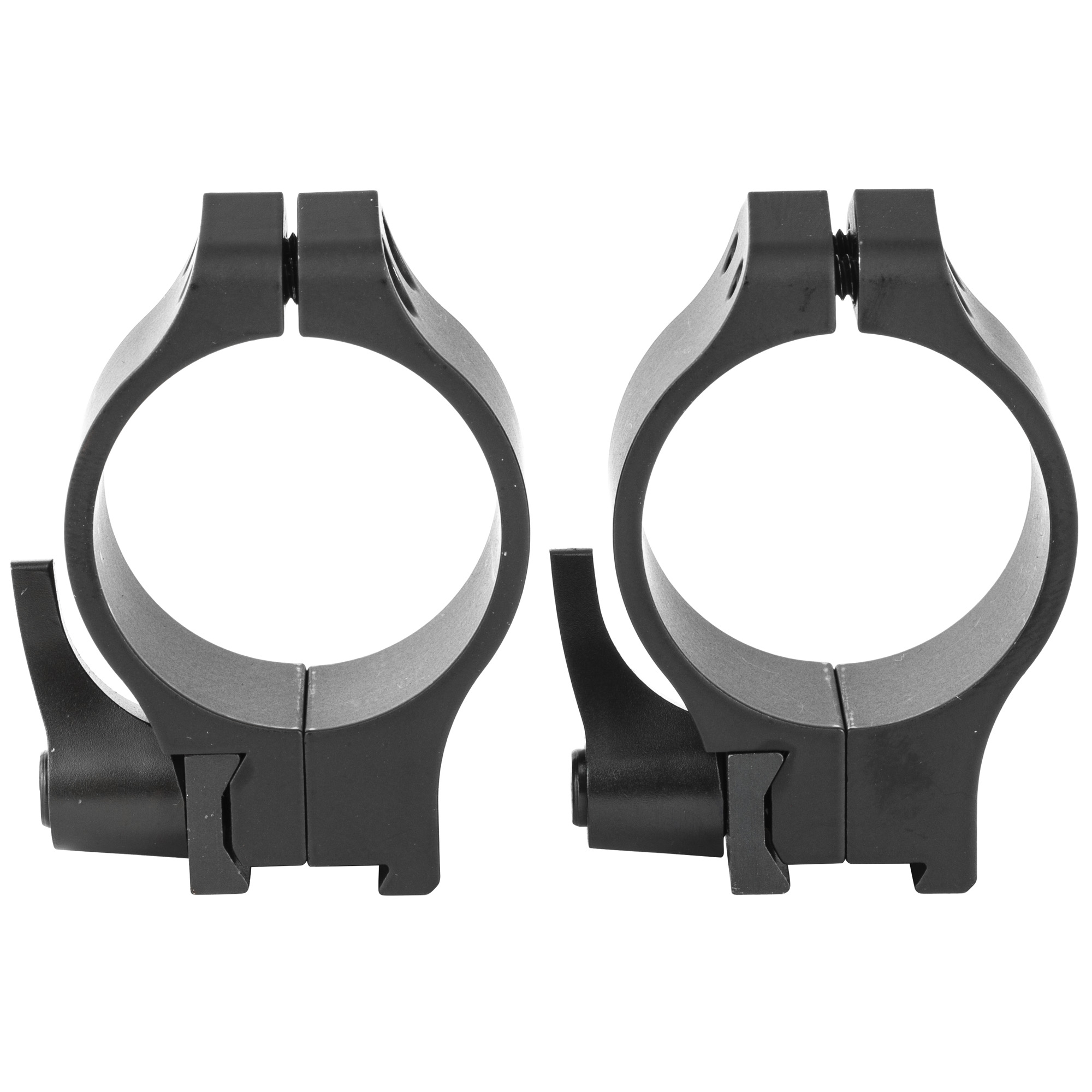 """The Maxima QD Rings sport the unique Warne indexable lever system which allows the user to remove the optics from the rifle then reattach it without the loss of zero"""" as well as allowing the location of the lever to be indexed once the rings are affixed to the bases. After the levers are tightened"""" simply pull out on the lever"""" turn it to the desired location then let it snap into place. When used on the all steel Warne Maxima Bases"""" Warne guarantees return to zero accuracy when removing and reattaching the optic. Also unique to the industry"""" the Maxima QD Rings have a square stainless steel recoil control key. This ensures a positive recoil engagement surface across the entire face of the recoil slot in the base. The recoil control key guarantees that the rings will not shift or move under fierce recoil and also protects against peening or swaging when mounted on aluminum bases."""