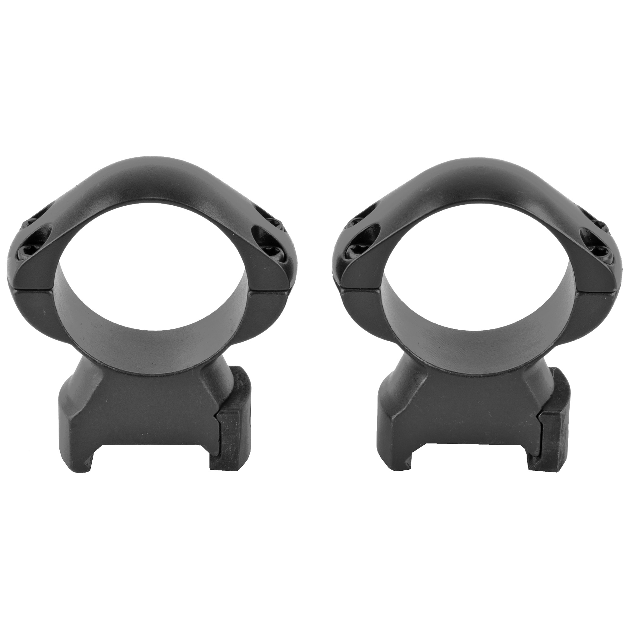 """Weaver's popular Grand Slam Rings recently went under the knife for an impressive"""" sleek"""" modern new look. The four-hole design with Torx screws adds gripping strength and added security. Plus"""" Weaver's legendary cross-lock design provides the ultimate in scope lock-down. Made of solid steel"""" these rings stand strong against aggressive recoil. To top it off"""" Weaver's newly-designed Grand Slam Rings are proudly made to exact tolerances in the U.S.A."""