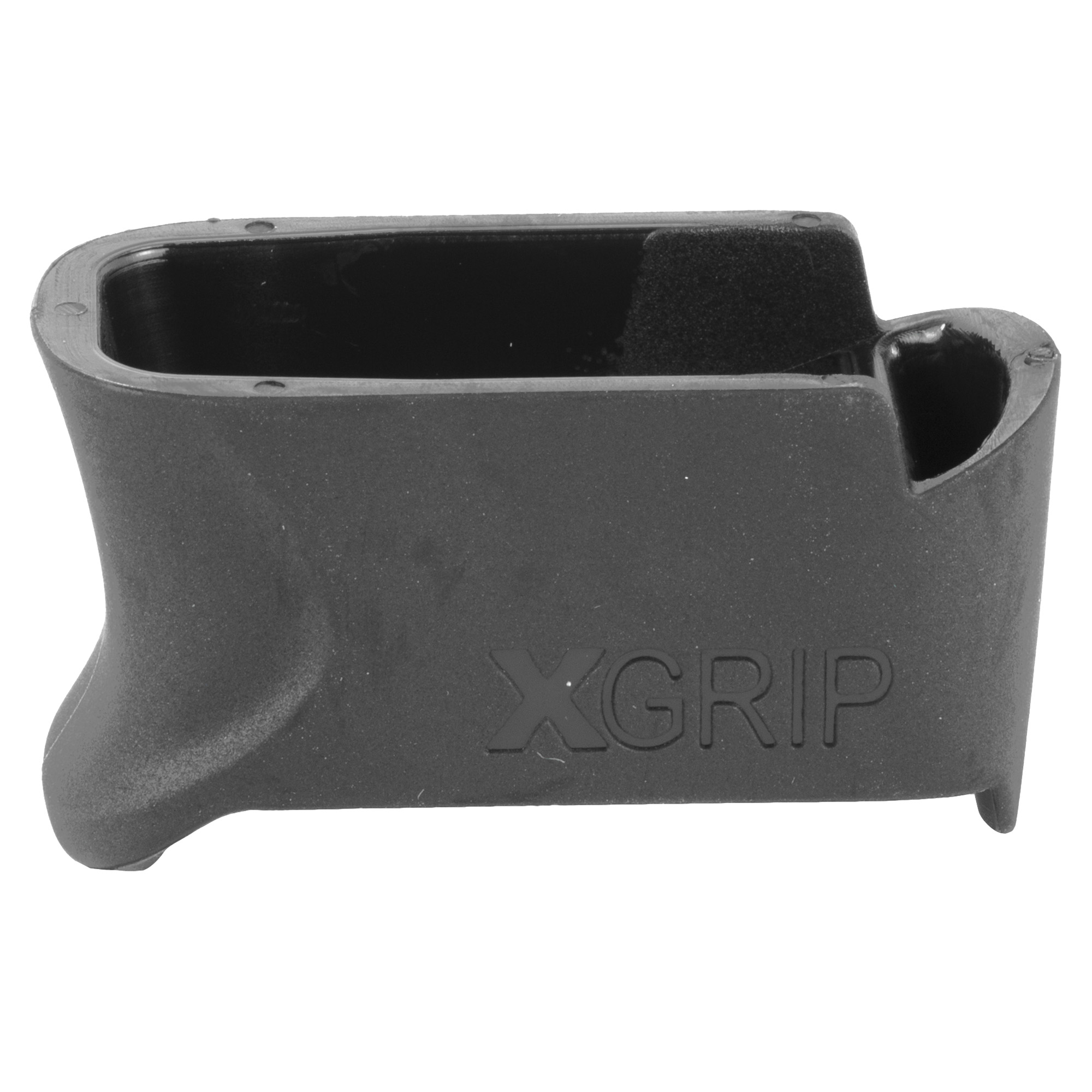 """The XGGL43-9 XGRIP adapts the ETS 9 round 9MM magazines for use in the G43 pistols"""" incorporating the larger magazine into the grip and increasing the gun's capacity."""