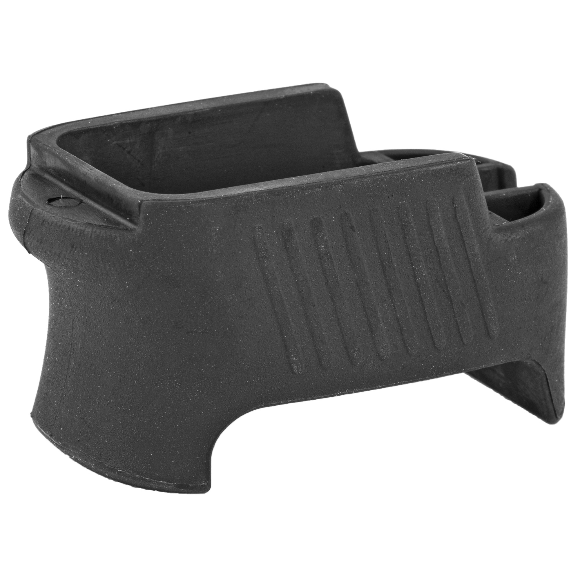 """This XGRIP adapts the HK P30 high capacity magazine for use in the P2000SK"""" incorporating the larger magazine into the P2000SK's grip and increasing the gun's capacity to 15 rounds in 9mm and 13 rounds in 40 cal."""