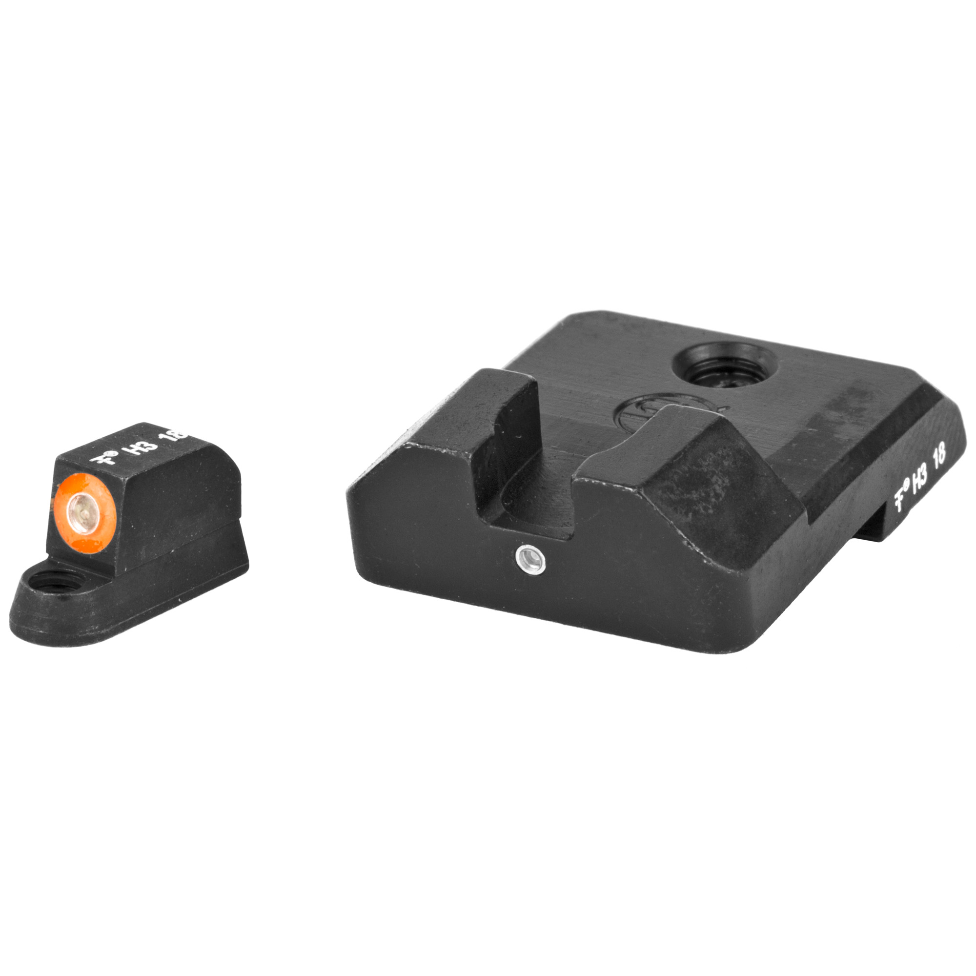 "Shoot better day and night. XS F8 night sights increase front sight focus by using a large"" high-contrast front sight for fast sight acquisition. The wide notch rear sight easily aligns with the front sight and increases front sight visibility. XS F8 night sights give you the best notch and post solution for fast sight acquisition in all lighting conditions."
