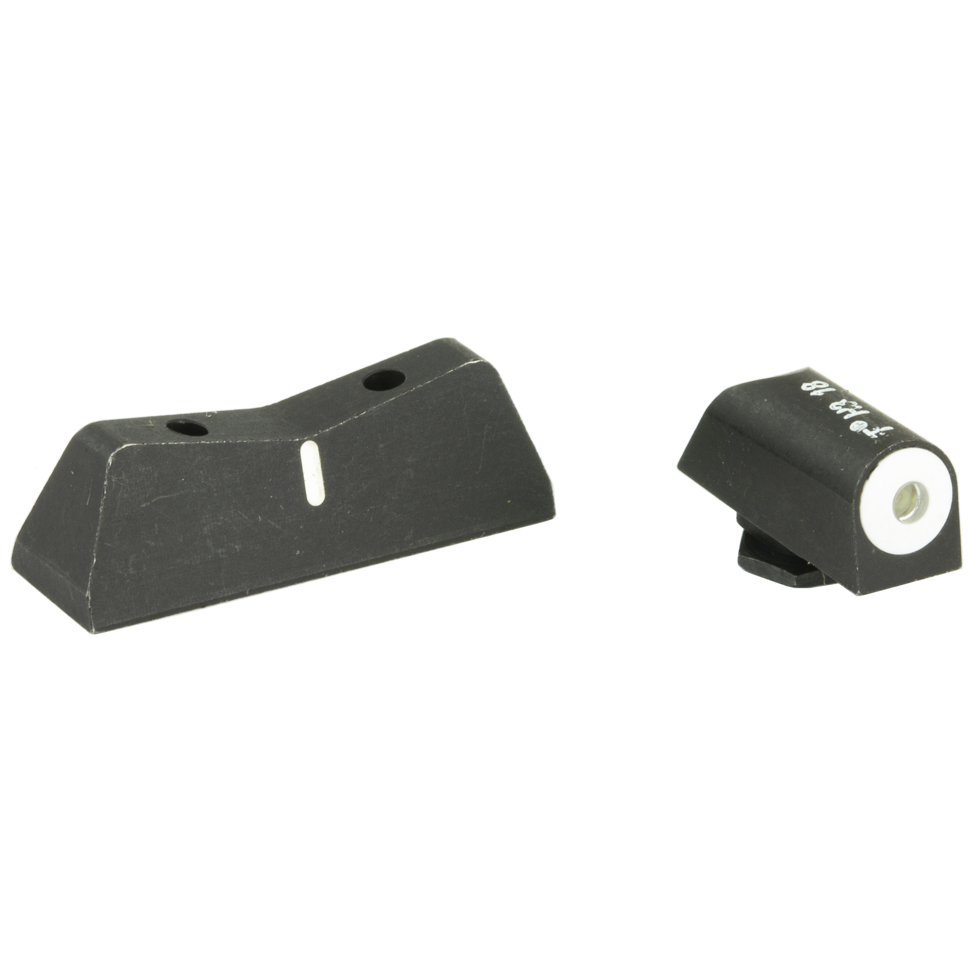 "The XS DXW Big Dot night sight is a superior defensive sight set. Fits Glock models 20"" 21"" 29"" 30"" 30S"" 37"" 40"" & 41. Precision machined in Fort Worth"" TX"" XS Sights feature a Big Dot Tritium front sight and express rear sight with a white stripe for fast sight acquisition in all light conditions. Big Dot demands your attention - even in high stress and for those with poor eyesight"" aids in rapidly achieving combat effective hits. White dot reflects ambient light for best visibility in low light. Shallow V-Notch rear provides an unobstructed view of the front sight"" along with a greater field of view down range"" especially when moving and shooting. Day-Light"" Half-Light"" or Low-Light"" just ""dot the i"" and center the dot over your target within 15 yards. Outside Diameter Big Dot 0.188""; fits in common holsters. Installation might require filing to fit sight to dovetail"" do not use a sight press/pusher tool."