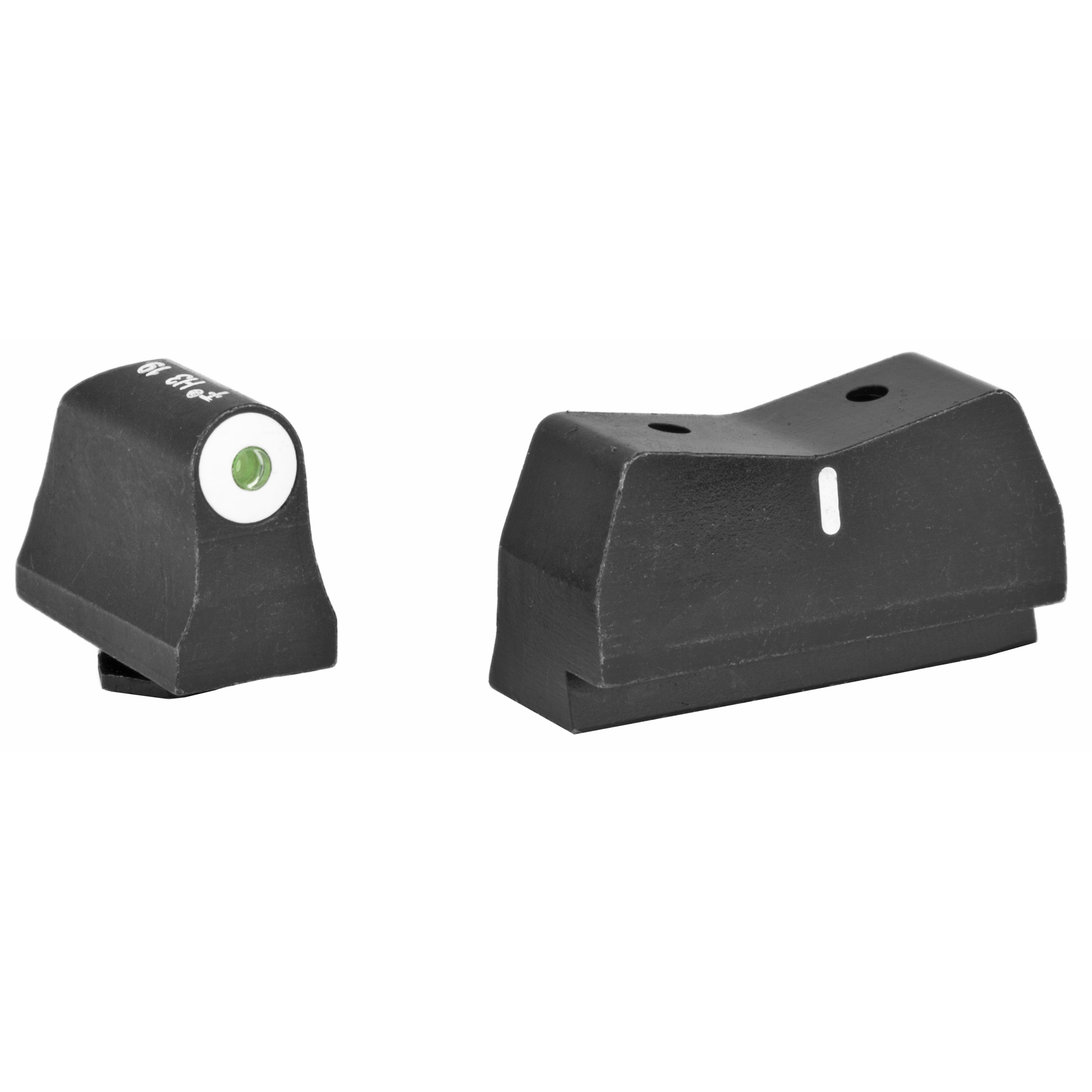 "Night Sights designed for defensive shooting and comfortable concealed carry. These night sights will allow you to get on target fast"" focus on the front sight and make a reliable shot."