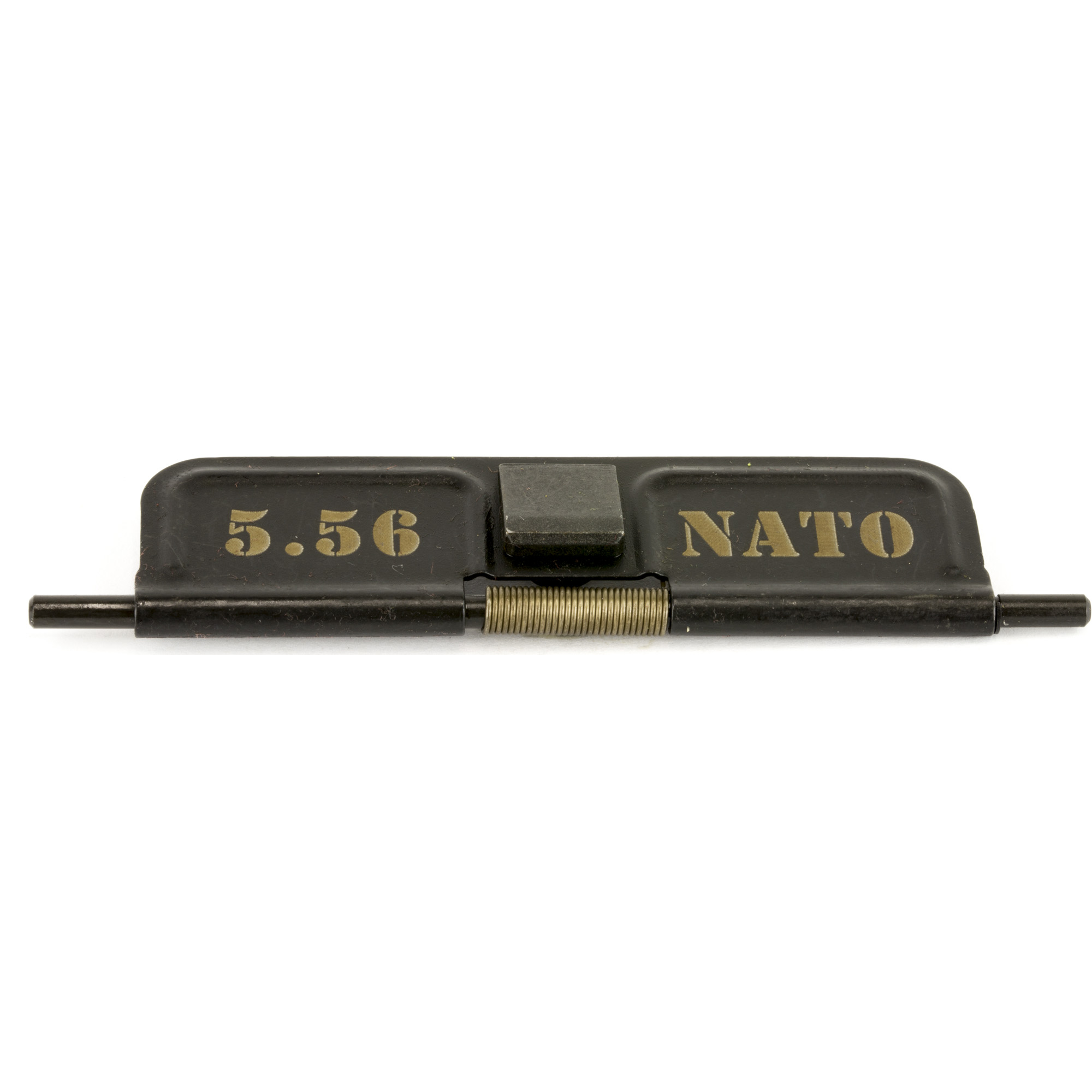 """YHM caliber marked dust covers for those who may end up changing the caliber of their top end/upper receiver. Assemblies Include the following: Caliber Marked Dust Cover"""" Rod and Retaining Clip"""" Spring."""