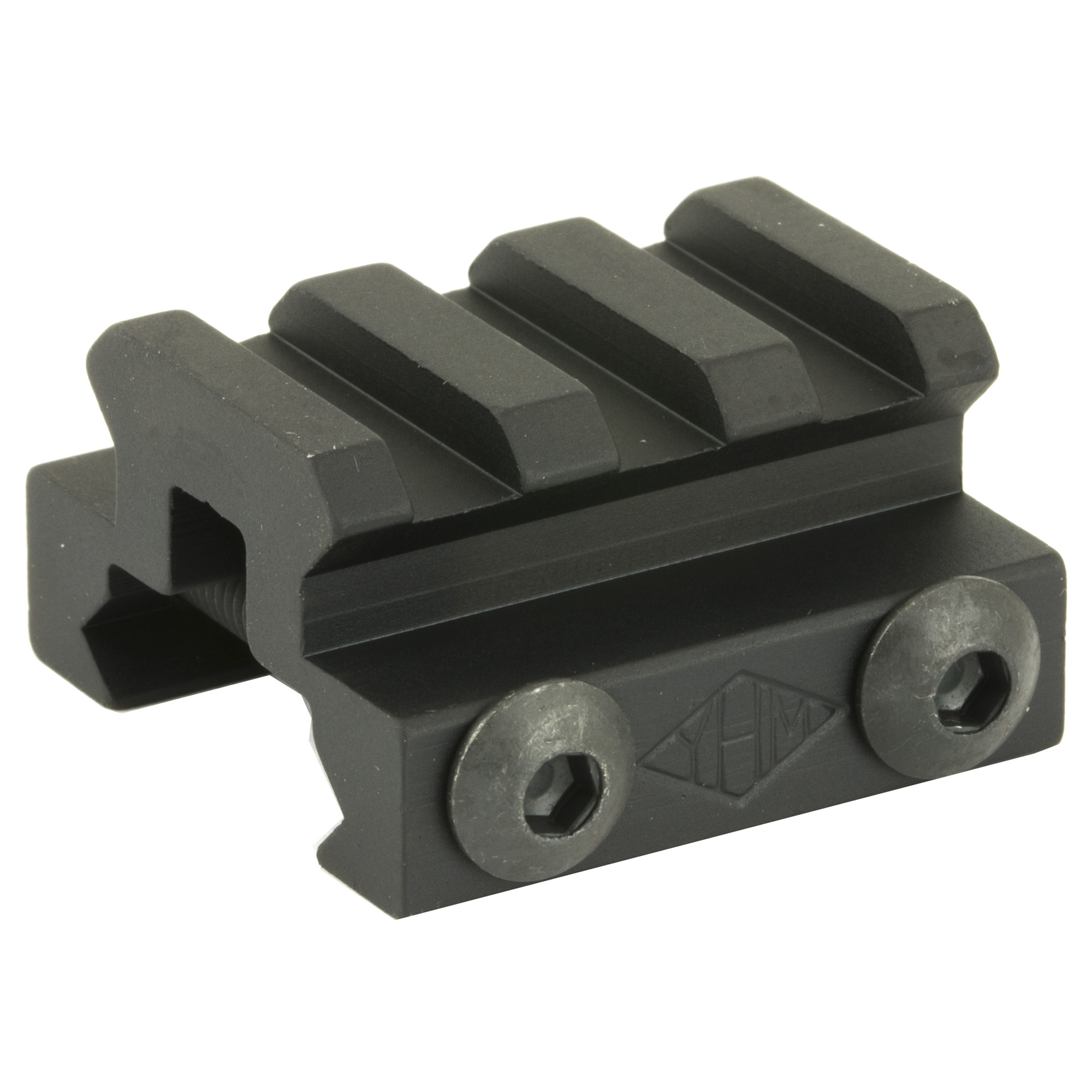 """These risers meet mil. spec 1913 and use a larger screw for more clamping power. They fit any picatinny rail. Great for elevating scopes"""" sights"""" flashlights"""" etc. These risers elevate your accessories 1/2"""""""