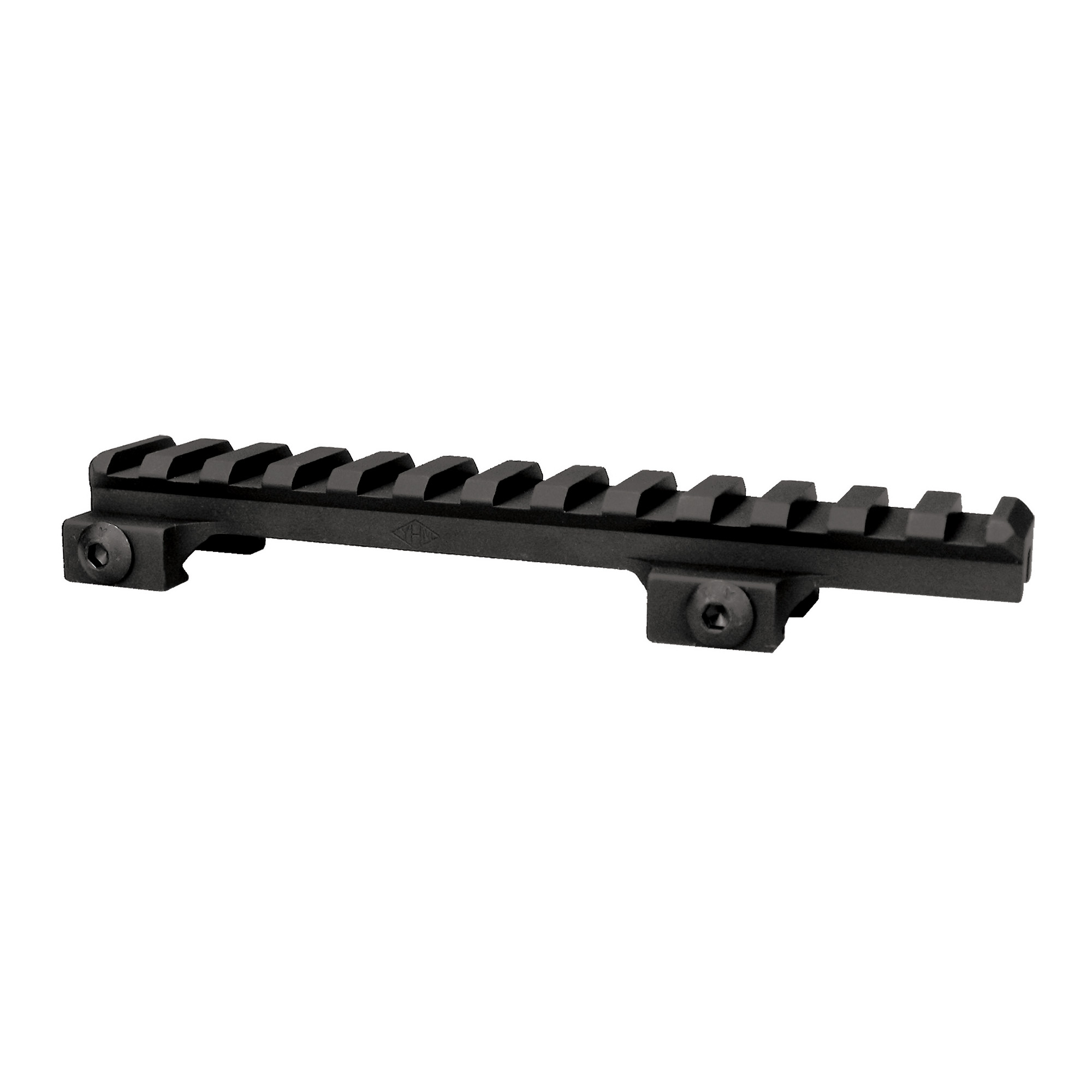 """This scope mount is perfect for varmint rifles. Great for all types of scopes"""" red dot sights"""" and other optics. Raises the equipment one half inch. Mounts to any picatinny rail"""" made from aircraft quality aluminum and hardcoated to military specifications.5-1/4"""" long."""