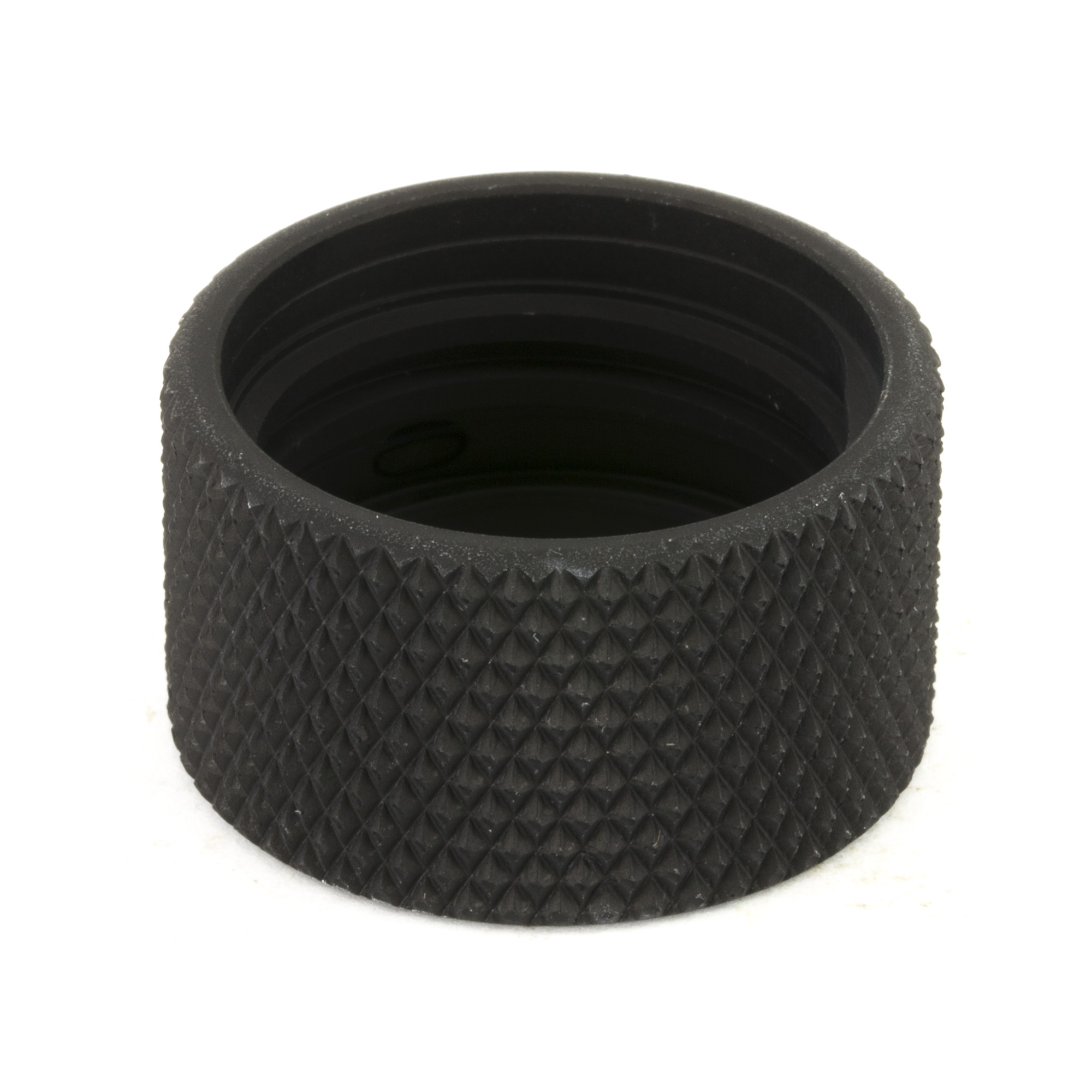 This protective cap will keep the ACME threads on your Q.D. flash hiders and mounts from becoming dirty or damaged when your suppressor is not in use.