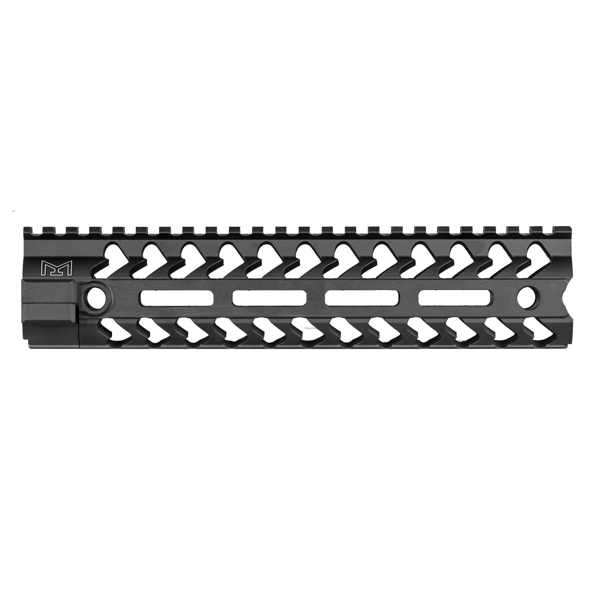 """Following the successful release of the YHM S.L.K. and KR7 KeyMod handguards and in response to customer demand"""" Yankee Hill Machine is proud to introduce their new line of M-LOK rails"""" providing the same lightweight durability with the added versatility of the popular mounting platform. Features a full-length picatinny top rail and Keymod mounting system at the 3"""" 6 and 9 O'clock positions."""