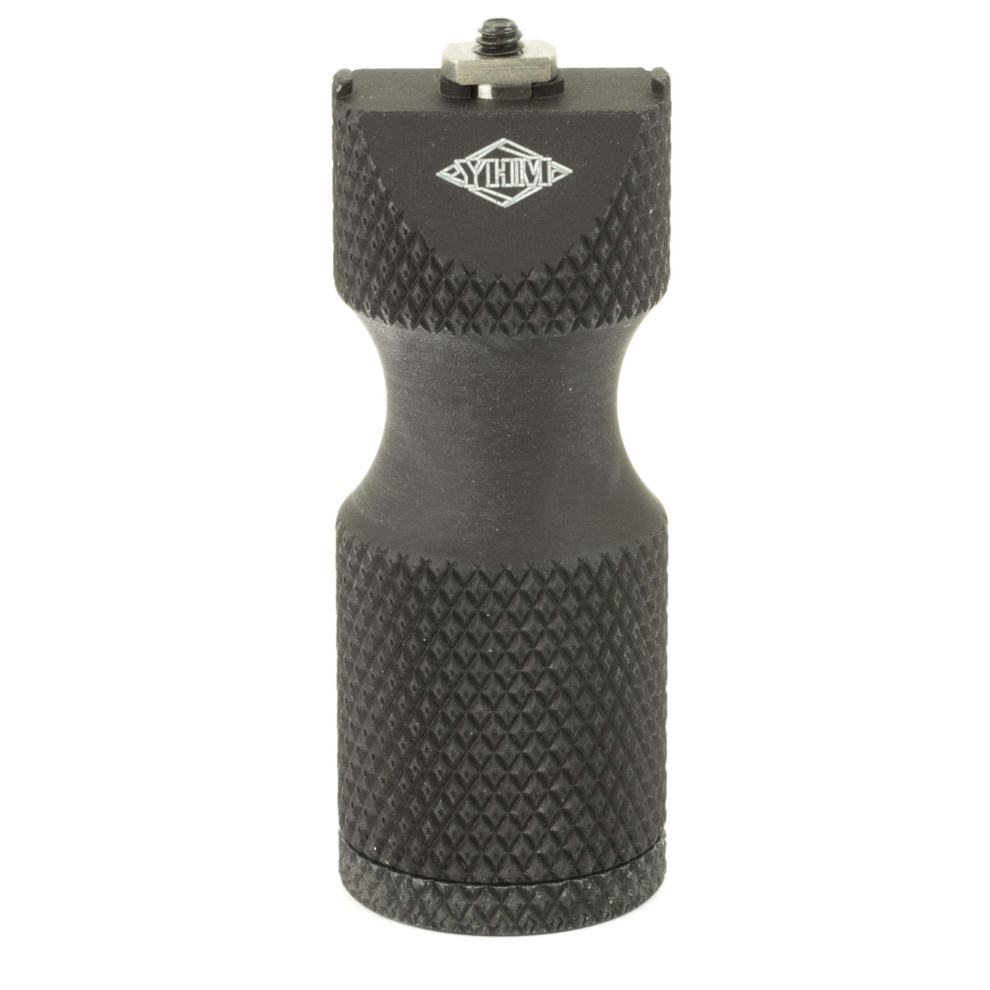 """This ambidextrous vertical grip is a simple"""" lightweight"""" and cost-effective device which secures tightly to any M-Lok mounting system. The low profile vertical grip design provides a positive hand hold in a small package. Adequately sized to allow the hand to take control of the front of the rifle"""" but not large enough to get in the way. The battery compartment will fit two CR123 batteries."""