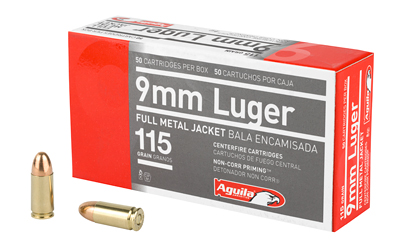 AGUILA 9MM 115GR FMJ 50/1000 | Products | RSRGroup com