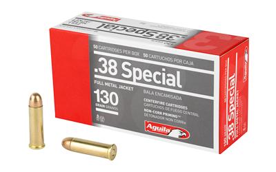 AGUILA 38SPL 130GR FMJ 50/1000