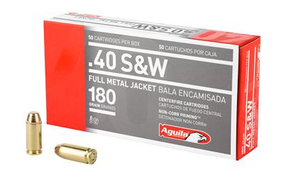 AGUILA 40SW 180GR FMJ 50/1000
