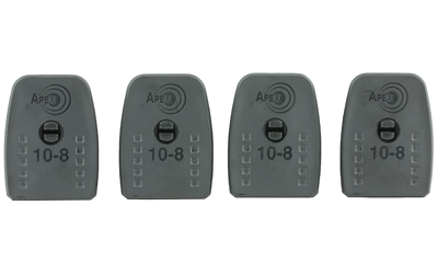 APEX TACT 10-8 BASE PAD & RTNR 4PK