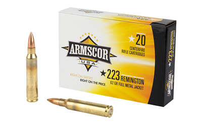 ARMSCOR 223REM 62GR FMJ 20/1000