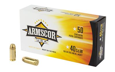 ARMSCOR 40SW 180GR FMJ 50/1000