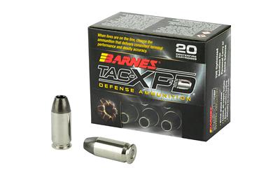 BARNES TAC-XPD 45ACP 185GR HP 20/200