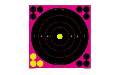 B/C SHT-N-C BULLSEYE TGT PINK 6-8