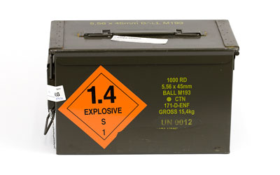 CENT ARMS 556NATO 55GR M193 1000RD