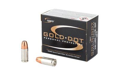 SPR GOLD DOT 9MM 124GR HP 20/500