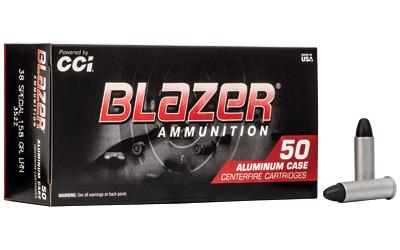 CCI/BLAZER 38SPL 158GR LRN 50/1000