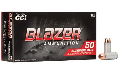 CCI/BLAZER 10MM 200GR FMJ 50/1000