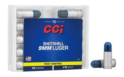 CCI 9MM #12 SHOTSHELL 10/200