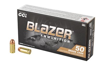CCI BLAZER BRASS 380A 95 FMJ 50/1000