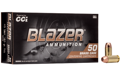 CCI BLAZER BRASS 40SW 180 FMJ 50/100