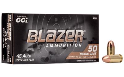 CCI BLAZER BRASS 45ACP 230 FMJ 50/10