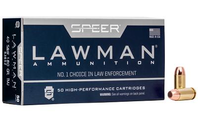 SPR LAWMAN 40SW 180GR TMJ 50/1000